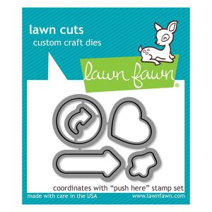Lawn Fawn Push Here Lawn Cuts