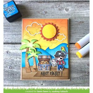 Lawn Fawn Stitched Cloud Backdrop (Portrait) Lawn Cuts class=