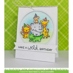 Lawn Fawn Outside In Stitched Circle Stackables