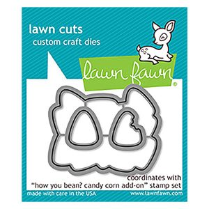 Lawn Fawn How You Bean? Candy Corn Add-on Lawn Cuts