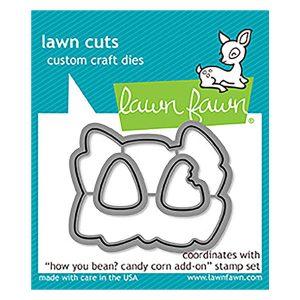 Lawn Fawn How You Bean? Candy Corn Add-on Lawn Cuts