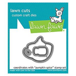 Lawn Fawn Pumpkin Spice Lawn Cuts