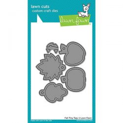 Lawn Fawn Fall Tiny Tags Lawn Cuts