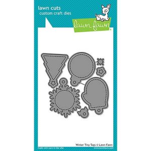 Lawn Fawn Winter Tiny Tags Lawn Cuts