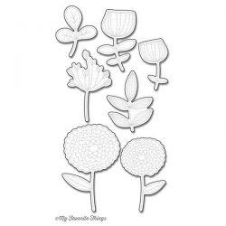 My Favorite Things Die-namics Sketchy Flowers