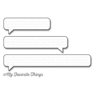 My Favorite Things Die-namics Essential Speech Bubbles