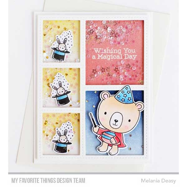 My Favorite Things Stitched Collage Frame Die Namics The