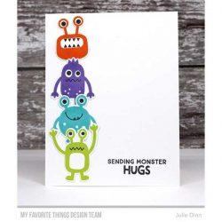 My Favorite Things More Monster Stamp Set