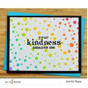 Altenew Tiny Bubbles Stencil class=