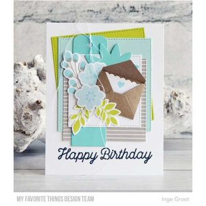 "My Favorite Things Gray & White Basics Paper Pack - 6"" x 6"" class="