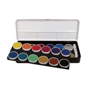 Finetec 24 Color Opaque Watercolor Set