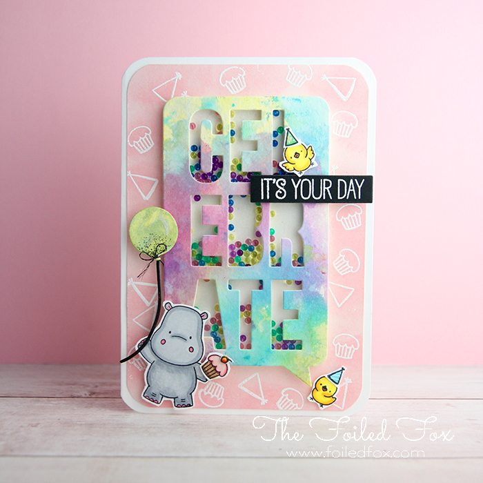 MFT Hippo Celebration card