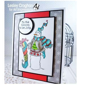 Art Impressions Seasons Greetings Stamp Set class=