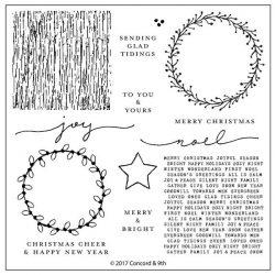Concord & 9th Joyful Noel Stamp Set