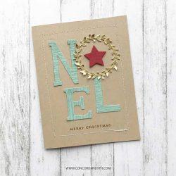 Concord & 9th Joyful Noel Stamp and Die Bundle