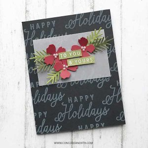 Concord & 9th Wreath Bundle (stamps & dies) class=