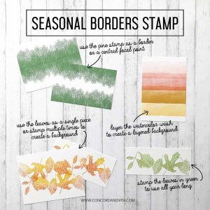 Concord & 9th Seasonal Borders Stamp Set class=
