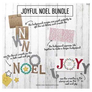 Concord & 9th Joyful Noel Stamp and Die Bundle class=