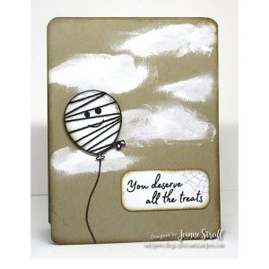 Impression Obsession Boo! Balloons Stamp Set class=