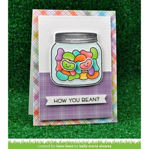 Lawn Fawn How Your Bean? Stamp Set class=