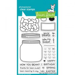 Lawn Fawn How Your Bean? Stamp Set