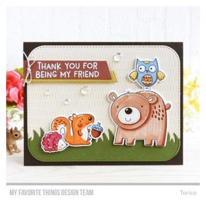 My Favorite Things Wild Woodland Stamp set class=