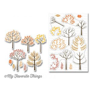 My Favorite Things Modern Trees Stamp Set class=