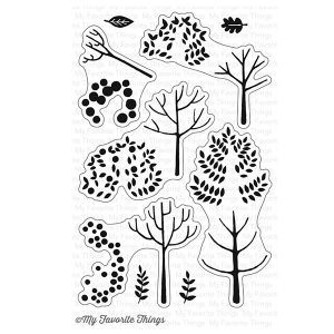 My Favorite Things Modern Trees Stamp Set