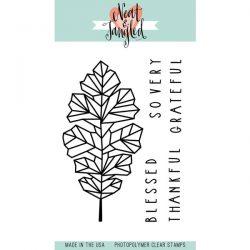 Neat & Tangled Oak Leaf Stamp Set