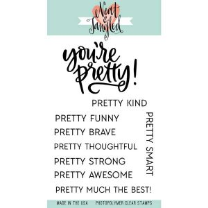 Neat & Tangled You're Pretty Stamp Set