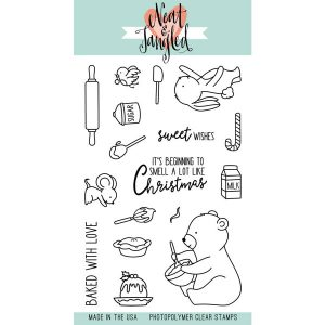 Neat & Tangled Holiday Baking Stamp Set