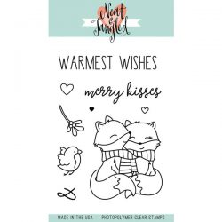 Neat & Tangled Merry Kisses Stamp Set