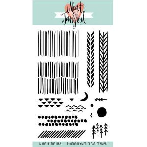 Neat & Tangled Landscape Textures Stamp Set