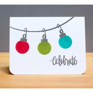 Neat & Tangled Merry and Bright Stamp Set class=