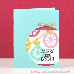 Neat & Tangled Merry and Bright Stamp Set