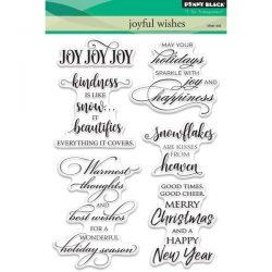Penny Black Joyful Wishes Stamp Set