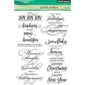 Penny Black Joyful Wishes Stamp Set