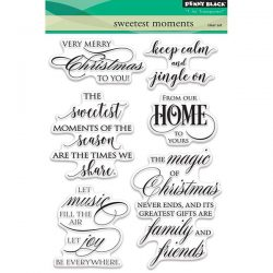 Penny Black Sweetest Moments Stamp Set