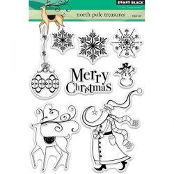 Penny Black North Pole Treasures Stamp Set