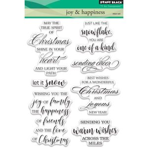 Penny Black Joy & Happiness Stamp Set