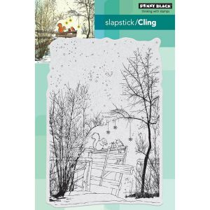 Penny Black Under The Trees Slapstick/Cling Stamp