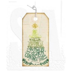 Stampers Anonymous Tim Holtz Doodle Greetings 2 Stamp class=