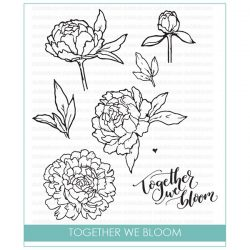 Studio Katia Together We Bloom Stamp Set