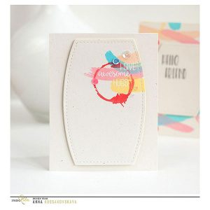 Studio Katia Brush Strokes Stamp Set class=