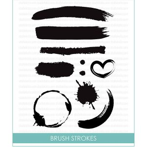 Studio Katia Brush Strokes Stamp Set