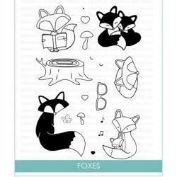 Studio Katia Foxes Stamp Set