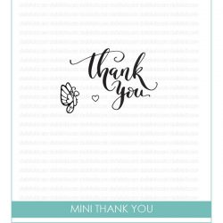Studio Katia Mini Thank You Stamp Set