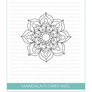 Studio Katia Mandala Flower Stamp Set