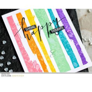 Studio Katia Brush Stroke Stripes Stamp Set class=