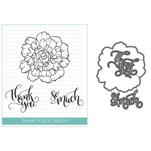 Studio Katia Thank You So Much Stamp and Die Bundle